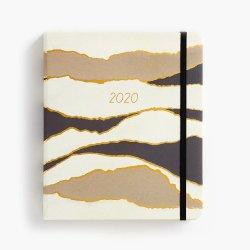 2020-2021 personnalisé jour Planner ordinateur portable à couverture rigide avec les diviseurs