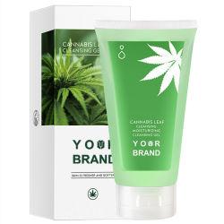 Produto de Limpeza Facial Reliefing cânhamo 100ml de cosméticos orgânicos/ Cdb rótulo privado de cuidados da pele