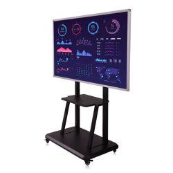 42, 43, 49, 50, 55, 65, 75, 85인치 LCD 터치 스크린 광고 디스플레이 모니터 키오스크, 터치스크린 정보 키오스크 교육용 대화형 평면 패널