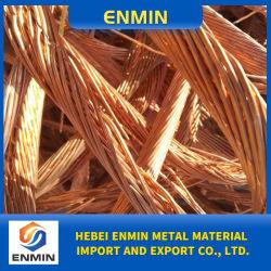 99,99% de pureza de fio de cobre/ de sucata de cobre brilhante