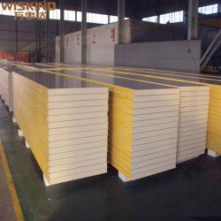 Alta calidad con certificado CE PU/ EPS/lana de roca/ Oxisulfato de magnesio / papel /aluminio Honeycomb techo y sistema de pared para limpiar Proyecto de sala Panel de sala limpia