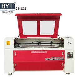 Bytcnc Venda Quente Tabela duplo com elevação CO2 máquina a laser CNC de acrílico, MDF corte a laser e gravura com marcação FDA Certificação SGS