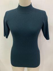 Mode femmes chandail à col roulé Vêtements tricotés