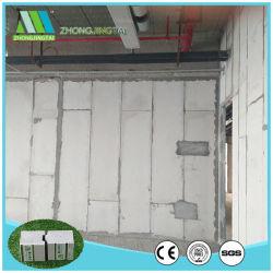 Isolados de betão leve parede interior do painel da parede exterior de painéis de cimento do tipo sanduíche de EPS