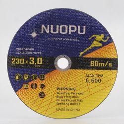 Высокое качество углеродистой стали абразивные режущий диск Китая отрезного диска для металла