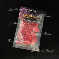 装身具のための分類された形の赤いよじ登るスパンコール