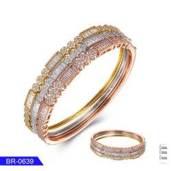 Barato jóias minimalista 925 Sterling Silver ou Bangle cobre para Girl