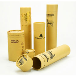 CBD 오일 포장 맞춤형 원판지 튜브 바이오 친화적 판지 맞춤형 인쇄