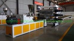 El plástico de PVC/PE/PP/PET Lámina y Placa de la producción de la Junta& línea de maquinaria de extrusión