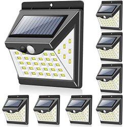Lowes alimentada a energia solar montado na parede exterior da lâmpada de luzes de LED de parede Iluminação Vintage