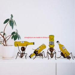 Creative Metal peu de vin de table Ant Rack rack Vin
