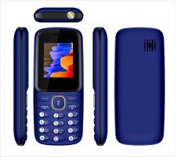 중국 제조업체 1.77인치 스크린 듀얼 SIM GSM 2g 셀 전화 기능 전화 키패드 휴대 전화