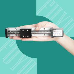 Alta precisión, Mini Guía de luz módulo actuador lineal Micro