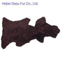 La pelliccia di taglio naturale della pelle di pecora dell'Australia nasconde il rivestimento del pattino