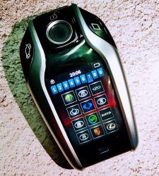 모든 오리지널 카 스마트 키를 위한 스마트 카 키 스페셜 디지털 실버 LCD 리모콘 키 벤츠 스마트 카로 업그레이드 주요 BMW 스마트 카 LCD 키