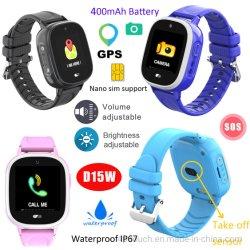 Genauer GPS-Verfolger-intelligentes Uhr-Telefon mit Abbau-Warnung D15W