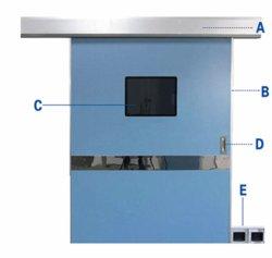 Avec la radiation automatique des portes la preuve Chambre d'hôpital