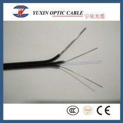 1 câble noir de base Indoor FTTH FTTH drop câble fibre optique câble Câble Câble plat Fig 8