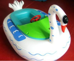 Kids와 Adults를 위한 물 Play Equipment Inflatable Electric Bumper Boat