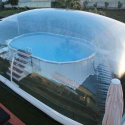 Cúpula personalizada tenda bolha transparente almofada insuflável Piscina cobrir