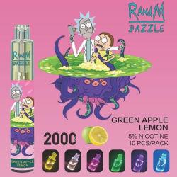 Porta USB inferiore 7 colori LED luci Dazzle Randm luminose Penna a penna monouso