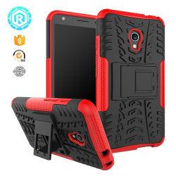 Abbagliare la cassa del telefono mobile del PC di Shockpropof Kickatnd TPU della cassa del telefono per Alcatel Pixi4 (5.0) 4G/5045