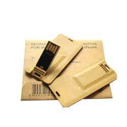 Tarjeta de presentación de alta calidad de la unidad Flash USB 2.0 de 4 GB y tarjeta de crédito USB Flash Drive con la impresión