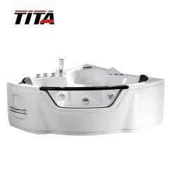 Diseño clásico masaje hidromasaje baratos bañera con asiento Tmb110
