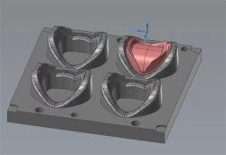 Compressão personalizados do molde de borracha de silicone para cobertura da RV