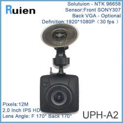 2 pouces de 1080P Portable voiture DVR Dashcam G-Sensor Dashcam voiture caméra de vision de nuit