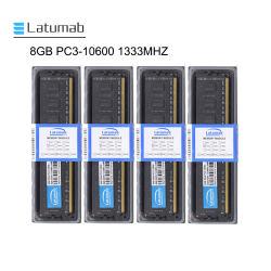 Latumab Tischrechner RAM sek-Chip 8GB RAM DDR3 1333MHz PC3-10600 240pin Computerspeicher-Fot Tischrechner DIMM