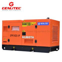 Kies of 3 Diesel Genset van de Generator 10kVA 12kVA 15kVA 20kVA 25kVA 30kVA Kubota Yanmar Isuzu van het Huis van de Fase de Draagbare Super Stille uit