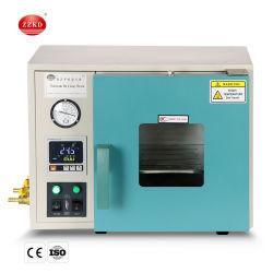 Digital laboratorio de esterilización de desgaseado del cuadro de horno de secado al vacío