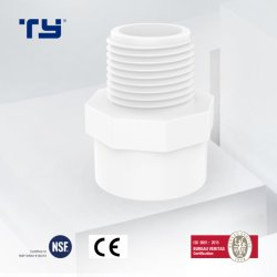 Производство Sch40 пластиковый ПВХ/CPVC/пластик/PPR давления фитинг переходника мужского пола с помощью SAM-UK ty обеспечивают OEM