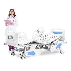 C8e 5機能病院のABSペダルをロックする本部が付いている電気安い医学の調節可能で忍耐強い療法の心配のベッド
