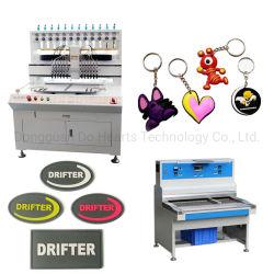 12/18/24/36 لون توزيع PVC آلي آلة صنع ملصق سلسلة مفاتيح الماكينة