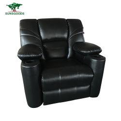 特注の電気革の家具椅子の動きのソファーイタリア語