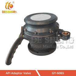 Adaptateur de l'API de pièces de pétroliers de carburant de la vanne de l'huile de chargement de camion-citerne à carburant