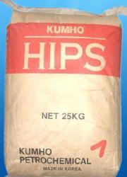 HIPS(High Impact Polystirene) 플라스틱 알갱이 히스 레진