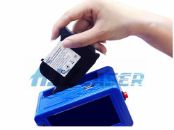 Handheld HP jato de tinta dos cartuchos de tinta para impressora Data código de barras qualificada