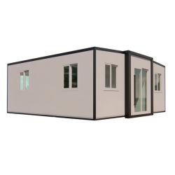 Villa préfabriqués Capsule mobile combiné de conteneurs préfabriqués Maison modulaire extensible