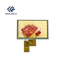 5.0 Bildschirmanzeige des Zoll-800X480 LCD mit dem Touch Screen verwendet in Camera/PDA/POS