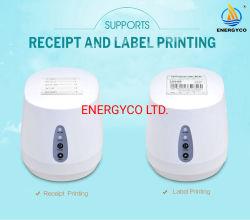 Etiqueta de preço do transporte marítimo de Transferência de Calor Térmica impressora de etiquetas de código de barras
