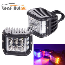 Neues Three-Sided leuchtendes 60W CREE LED Auto-helles blinkendes Licht-Three-Sided leuchtendes Arbeits-Licht-Warnleuchte des Arbeits-Licht-LED
