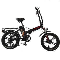 2021 China Wholesale Bicicleta de aluminio de carbono 350W/Motor de 750 W de potencia de litio de 26pulgadas/27,5 pulgadas de doblado/neumático Fat plegable bicicleta eléctrica con pantalla LCD en venta