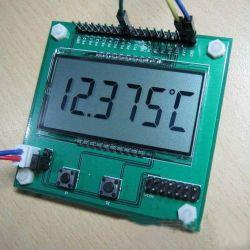 Benutzerdefiniertes 7-Segment-LCD für Smart Meter