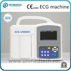 Организации Объединенных Наций, утвержденном CE ISO8003 портативный цифровой госпиталь электрокардиографа 12 отведений ЭКГ Просто получить актуальную ЭКГ с сенсорным экраном машины