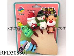 Banheira de vender crianças brincam Bonitinha Natal Fantoche de Dedo Toy