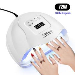 LED 네일 램프 LED 네일 드라이어 램프 LED 네일 UV UV 매니큐용 램프 48W 강력한 UV LED 네일 램프 젤