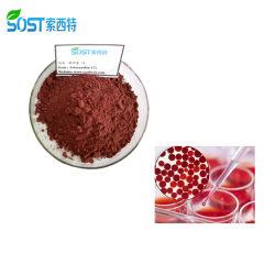 Campione di sicurezza senza stock 1-20% di astaxantina di alghe rosse in polvere di ematococco Pluvialis